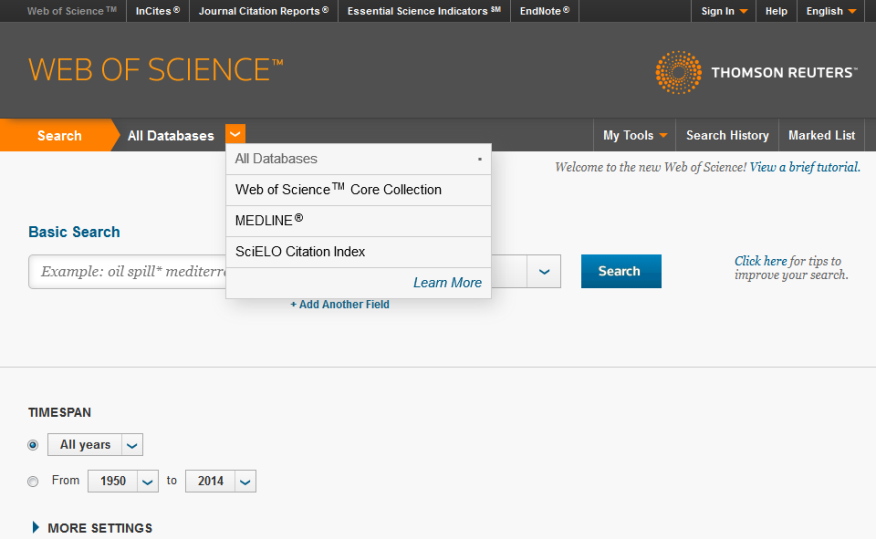 Scielo Citation Index on Web of Knowledge