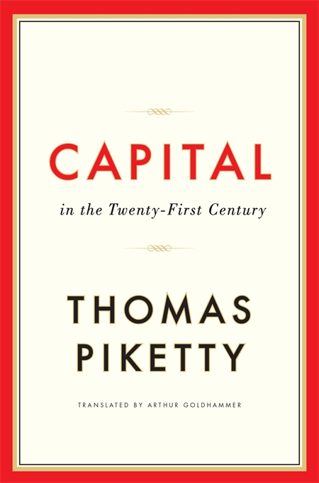 Front Cover Capital in the Twenty-First Century