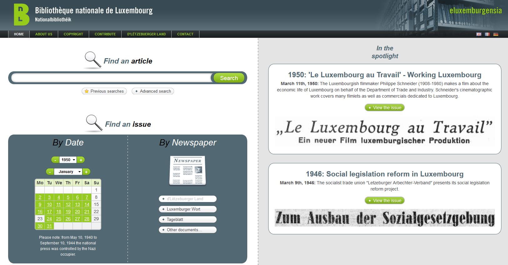 Tageblatt luxembourg online dating