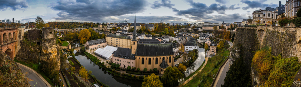 Luxembourg City, shutterstock
